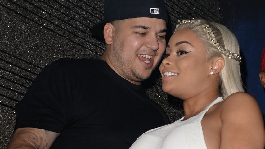 Blac Chyna und Rob Kardashian bei der Geburtstagsparty für Blac Chyna in Miami