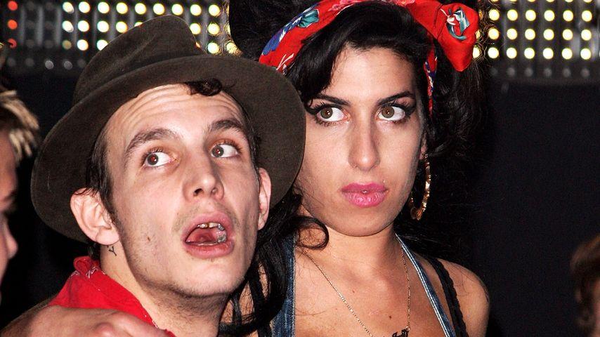 Blake Fielder-Civil und Amy Winehouse im Jahr 2007