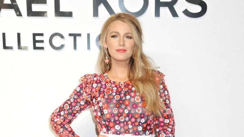 Blake Lively bei der New Yorker Fashion Week