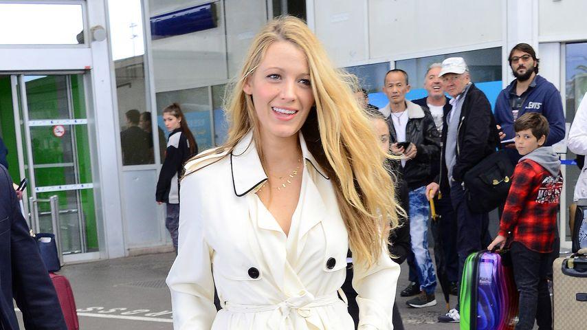 Blake Lively: So stylisch verpackt sie ihren Mini-Babybauch