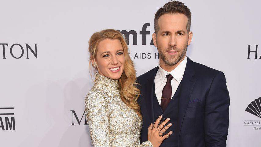 Blake Lively und Ryan Reynolds bei der amfAR New York Gala 2016