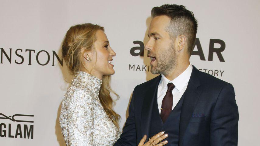 """Blake Lively und Ryan Reynolds auf der """"amfAR""""-Gala in New York"""