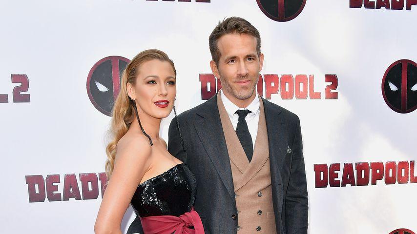 """Blake Lively und Ryan Reynolds bei der Premiere von """"Deadpool 2"""" in New York City, 2018"""