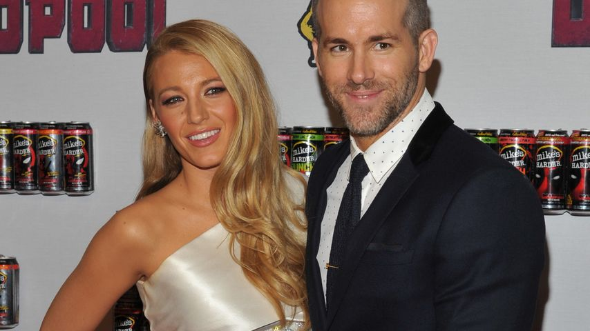 Nach Baby-Pause: 1. Red Carpet für Ryan Reynolds & Blake