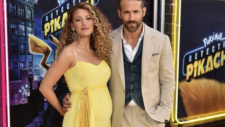 Zum dritten Mal: Blake Lively & Ryan Reynolds werden Eltern