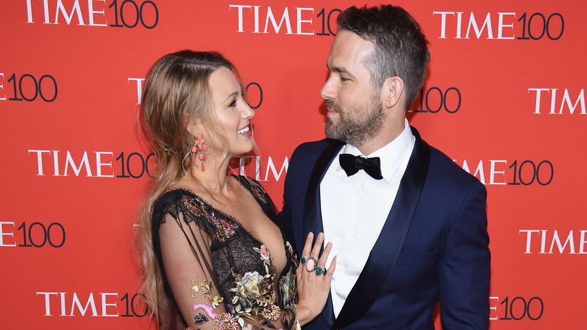 Blake Lively und Ryan Reynolds bei der Time 100 Gala in New York