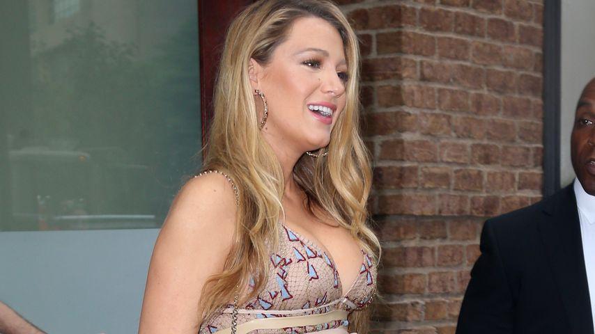 Blake Lively während ihrer zweiten Schwangerschaft