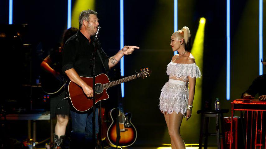 Blake Shelton und Gwen Stefani beim CMA Summer Jam im Ascend Amphitheater