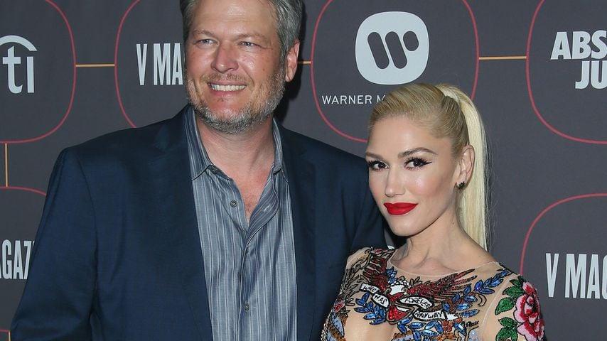 Blake Shelton und Gwen Stefani auf einer Pre-Grammy-Party in Hollywood im Januar 2020
