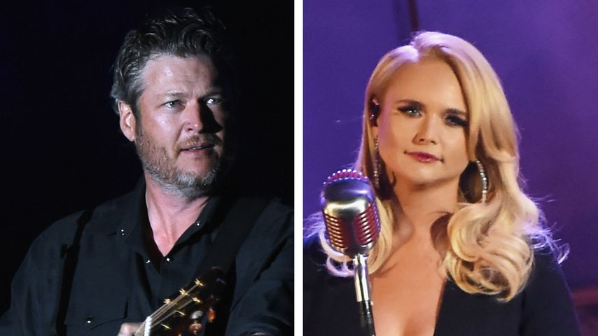 Disst Miranda Lambert hier Ex Blake Shelton vor Publikum?