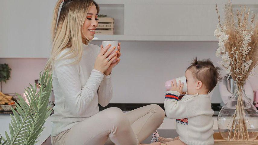 Bloggerin Kisu und ihre Tochter Milena, Januar 2021