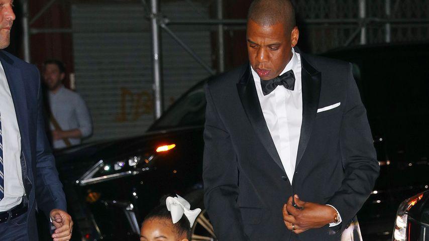 Blue Ivy Carter mit ihrem Vater Jay-Z