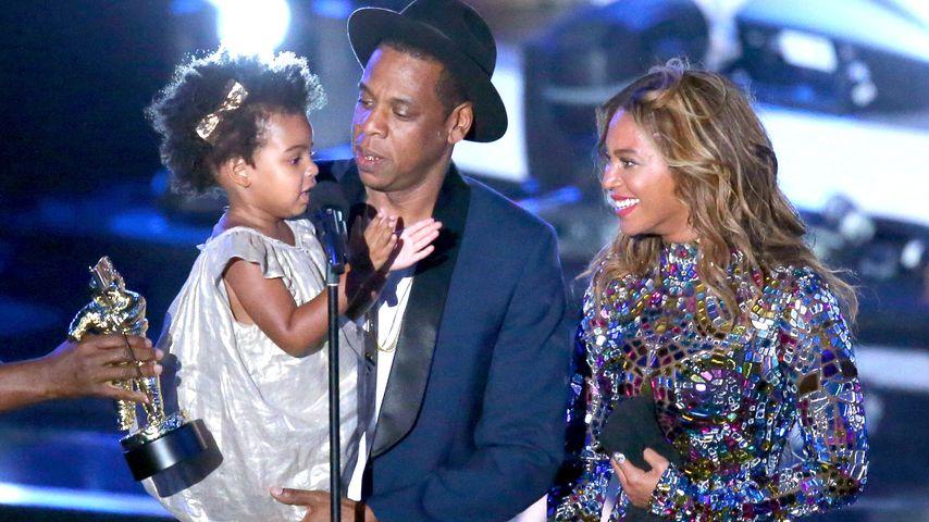 Blue Ivy, Jay-Z und Beyoncé bei den MTV Video Music Awards 2014