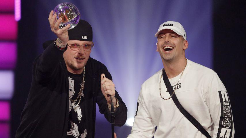 Bonez MC und Raf Camora bei der 1Live Krone 2017