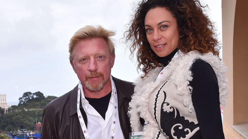 Boris Becker, Lilly Becker und Amadeus Becker bei den Monte Carlo Rolex Masters