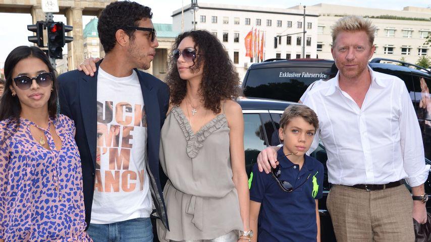 Lilly Becker, Boris Becker und Noah Becker