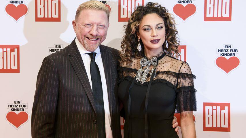 Boris Becker und Lilly Becker bei einer Gala in Berlin