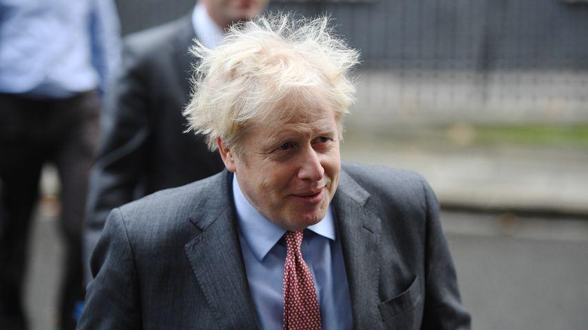 Kein Kamm? Boris Johnson entschuldigt sich für wilde Frisur
