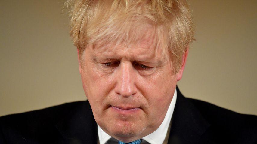Boris Johnson im März 2020