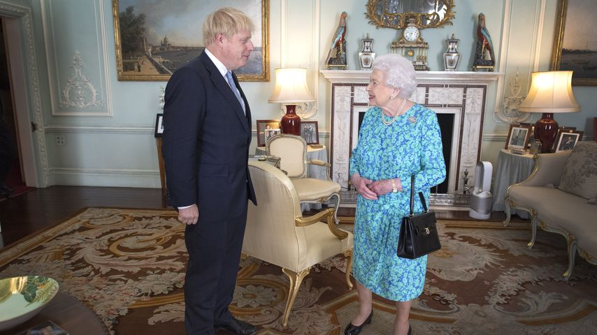 Boris Johnson und Queen Elizabeth II. im Juli 2019