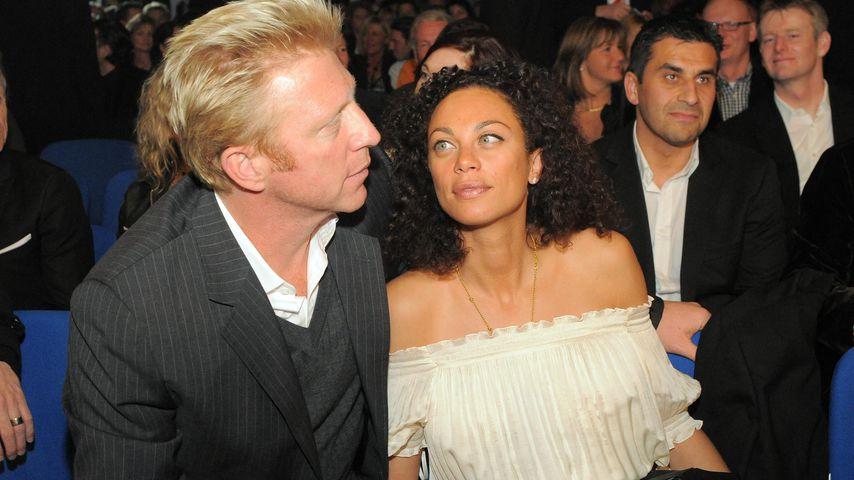 Boris und Lilly Becker in Stuttgart