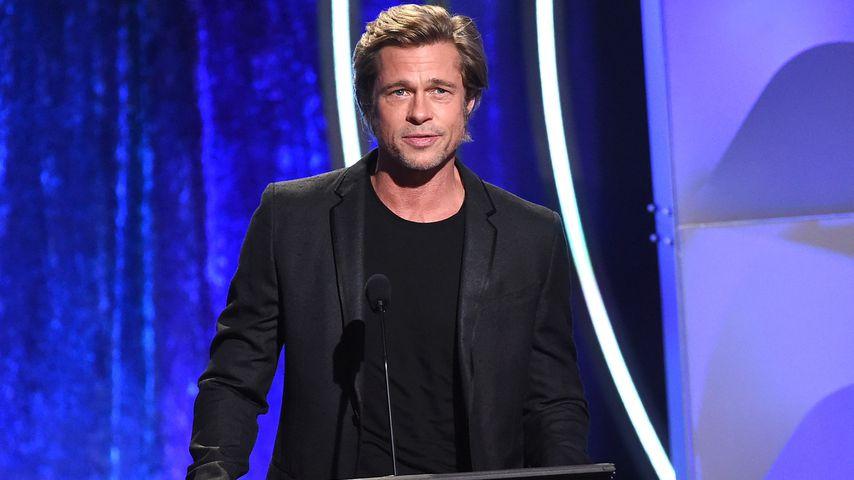Brad Pitt bei den Hollywood Film Awards 2018