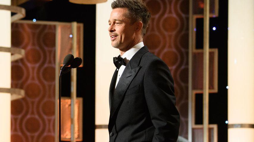 Brad Pitt bei den Golden Globes 2017