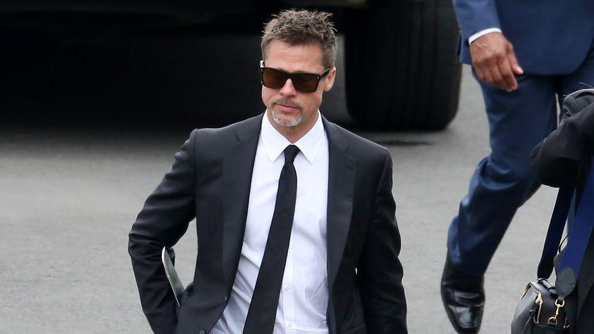Brad Pitt auf dem Hollywood Forever Cemetery