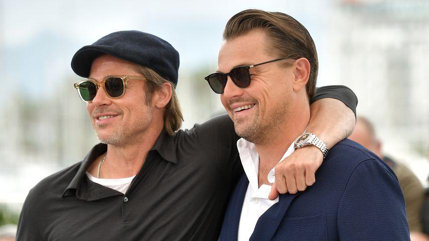 Brad Pitt und Leonardo DiCaprio auf dem Filmfestival in Cannes im Mai 2019