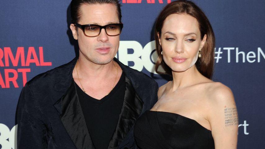 Brad Pitt und Angelina Jolie