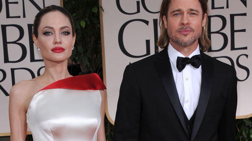 Brad Pitt und Angelina Jolie bei den Golden Globes