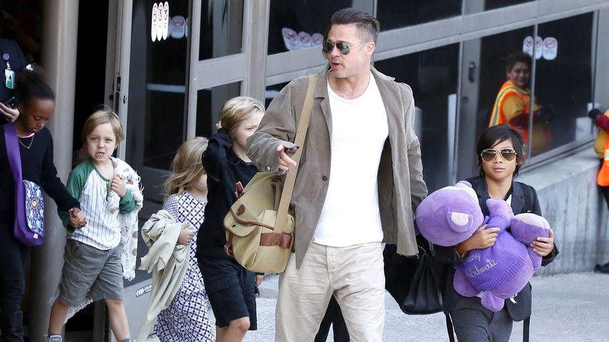 Emotionale Reunion: Tränen bei Brad Pitt und seinen Kids!