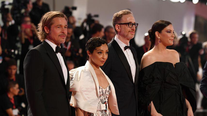 "Brad Pitt, Ruth Negga, James Gray und Liv Tyler bei ""Ad Astra""-Premiere in Venedig"