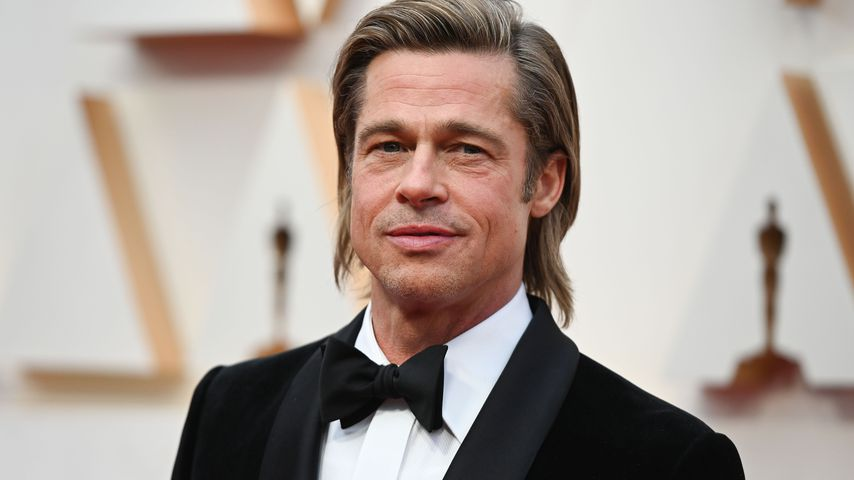 Brad Pitt bei den Oscars in Hollywood im Februar 2020