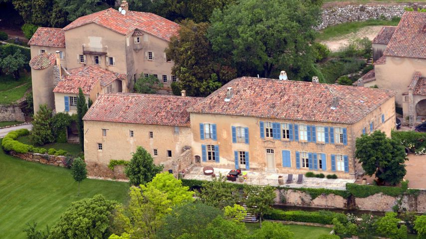 Brad Pitt und Angelina Jolies Chateau Miraval in Le Val