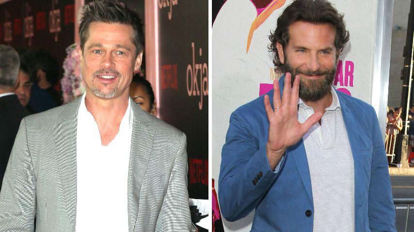 Brad Pitt holt sich Anti-Alkohol-Tipps von Bradley Cooper