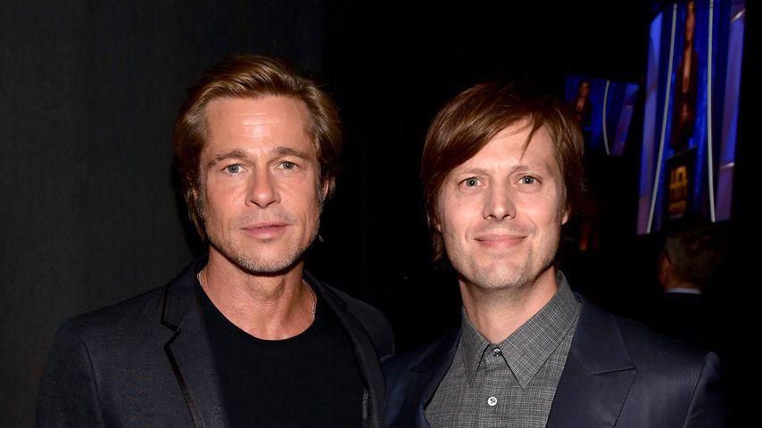Brad Pitt und Felix van Groeningen bei den Hollywood Film Awards 2018
