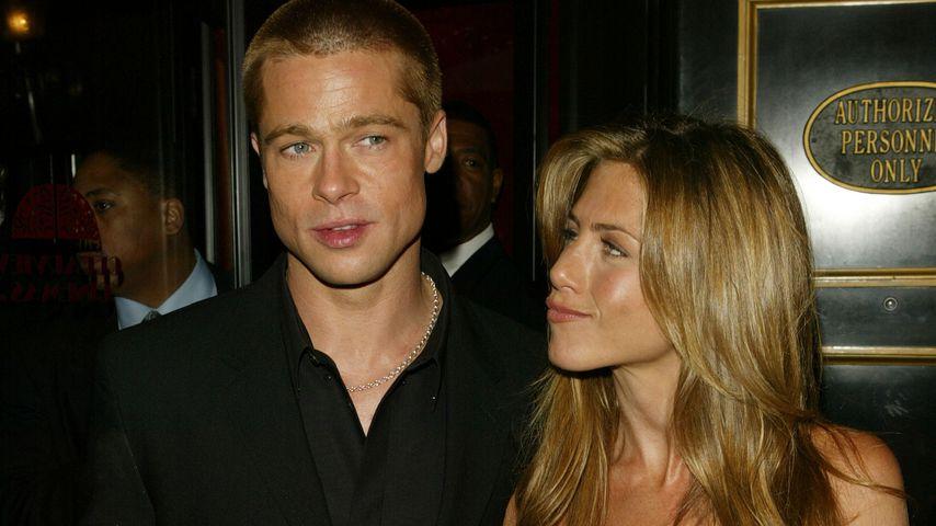 """Brad Pitt und Jennifer Aniston bei der Premiere von """"Troja"""" 2004"""
