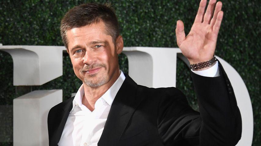 Brad Pitt in Westwood 2016
