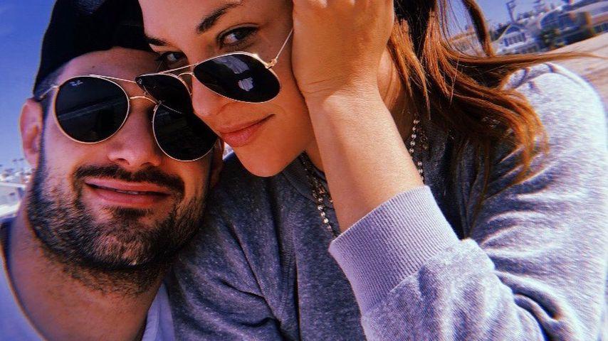 Brad Richardson und Jessica Szohr im Januar 2020