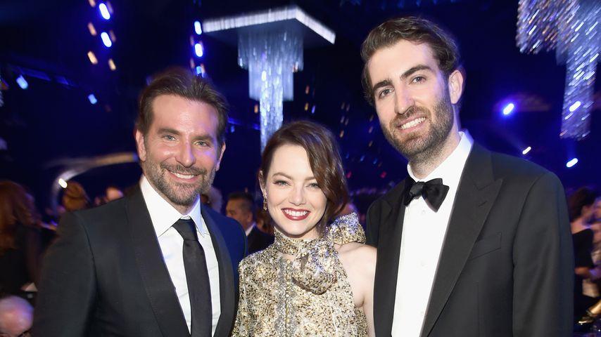 Bradley Cooper, Emma Stone und Dave McCary bei den 25. SAG Awards
