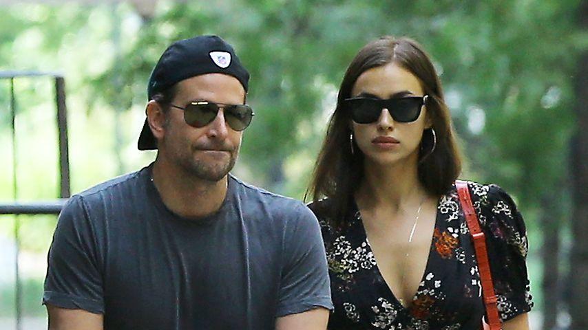 Stummes Dinner: Liebes-Krise bei Bradley Cooper und Irina?