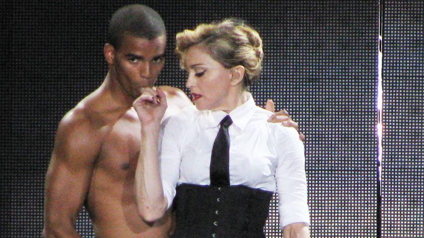 Madonna und Brahim Zaibat