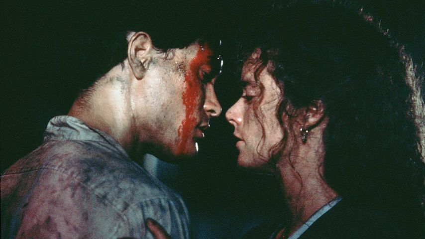"Brandon Lee und Kate Hodge in ""Rapid Fire"" (1992)"