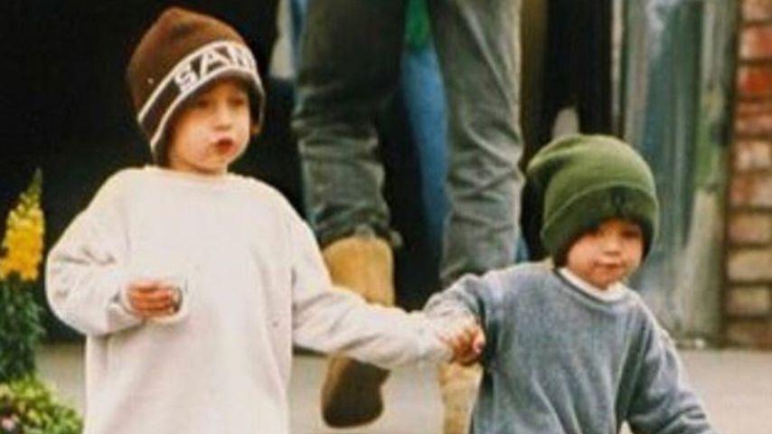 Brandon Thomas und Dylan Jagger Lee im Kindesalter