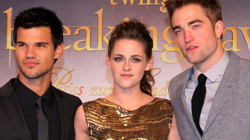 Kristen Stewart, Robert Pattinson und Taylor Lautner