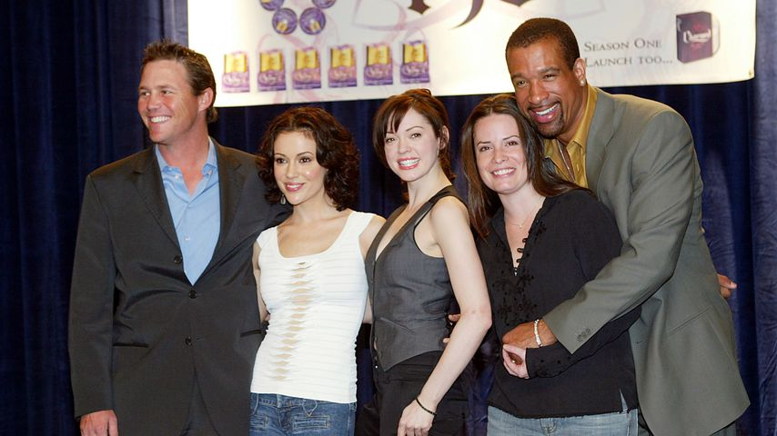 Brian Krause, Alyssa Milano, Rose McGowan, Holly Marie Combs und Dorian Gregory