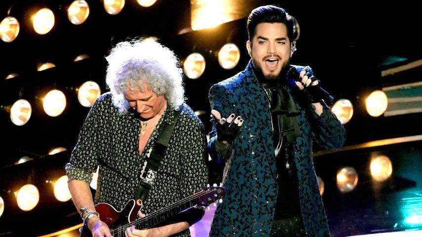 Brian May von Queen und Adam Lambert bei den Oscars 2019