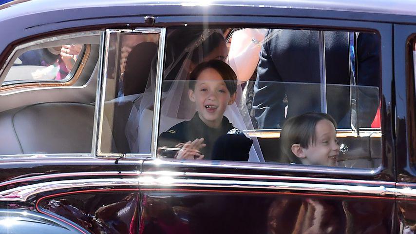Süßer Knirps bei Royal-Wedding: Diese Zahnlücke verzückt!