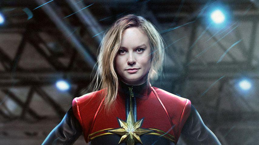 """Brie Larson in """"Captain Marvel"""""""